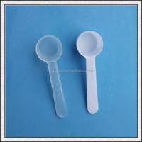 Custom food grade 10ml 5g promotional plastic measuring spoons for wholesale milk coffee measuring spoons manufacturers