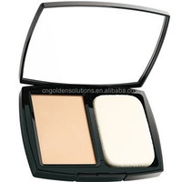 Fashionable powder compact case,makeup cosmetic powder compact with mirrors