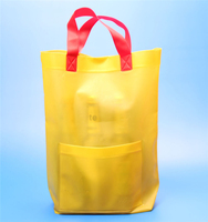 recycled EVA/PVC OEM color plastic bag with handle