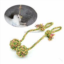Pet Dog Chew Toys Durable Braided Rope 38 cm Pet Chew Rope Interesting Toys