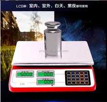 40kg 10g platform weighing balance portable electronic scale