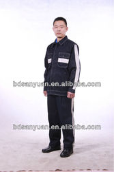 multifunctional dustproof anti-static blending fabric miner clothing