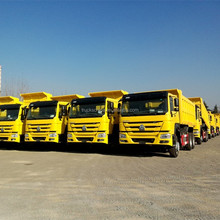 China Top Brand 10 Tires 6x4 Howo Sinotruk Mining dump truck for sale