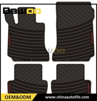 Used For Mercedes C W 204 model new design 3d water proof car floor mat