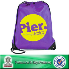 recycled 210d drawstring polyester bag