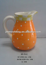 colorido ollas de cerámica