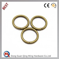 8mm Small Metal Round Ring For Bags