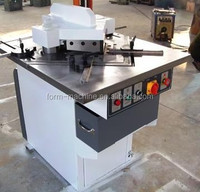 hydraulic angle steel cutting tools cropping notching machine from metform