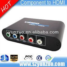 High resolution component to HDMI converter