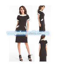 Polyester / Cotton Material and Casual Dresses Dress Type pencil wiggle dress