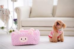 plush animal shaped pet bed/giant croc shoe shape pet bed/pet bed tent