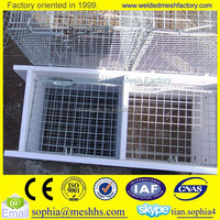 farm breeding mink cage wire panels