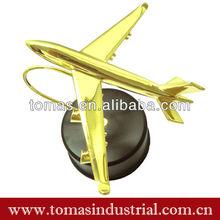 Metal crafts decorative airplane model