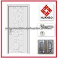 mdf portas interiores de madeira da moda com bom copo