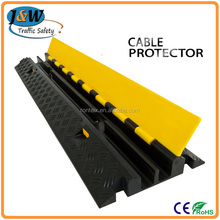 Outdoor Events Cable Ramp Plastic Speed Bump Cable Protector