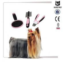2015 pet grooming brush/dog dematting comb /pet nail clippers