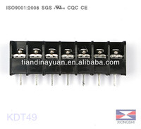 Plug Electronic Connector KDT49 300V 25A 9.5mm Pitch