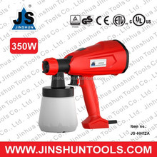 JS HVLP Paint Sprayer 3-ways Nozzle Spray Gun Professional Painting Sprayer 350W JS-HH12A