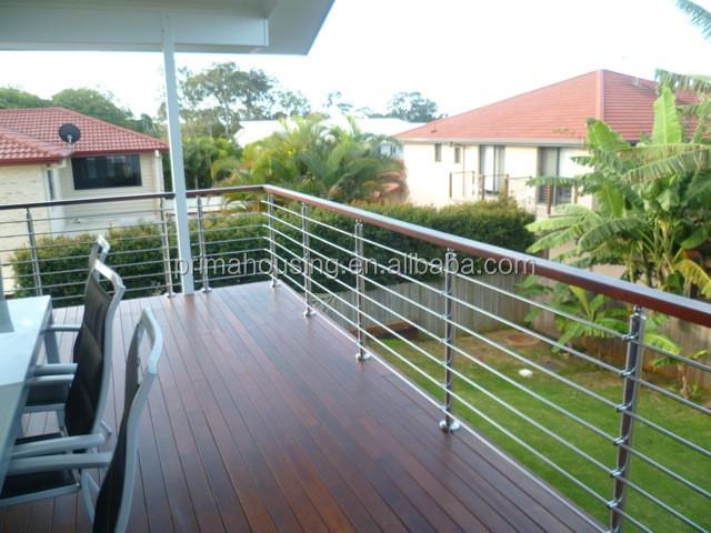 moderne garde corps balcon en verre rampes et mains. Black Bedroom Furniture Sets. Home Design Ideas