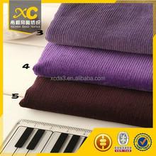 free samples corduroy fabric for home sofa