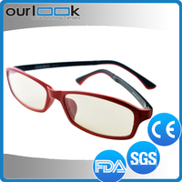 Ultem Made Red Color High End 2013 Latest Optical Eyeglass Frames For Women