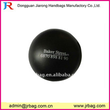 Cool design black round pu foam stress basketball for boys