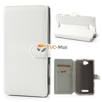 TPU MALL PU Leather Wallet Cute Phone Case For Sony Xperia C S39h