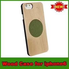 New arrival hot selling wooden christmas mobile phone case for iphone6
