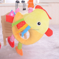 Chicken baby standard safety music with squeaker quality toy