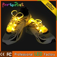 2015 new style led reflective wholesale shoe lace
