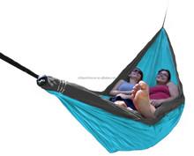 outdoor portable double hammock Nylon parachute hammock