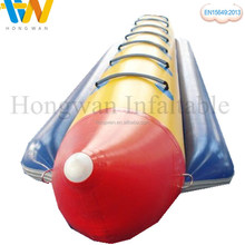 Hot sale high quality ocean rider inflatable banana boat raft prices