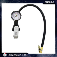 NEW Dial Tire inflator Dial Tire gauge