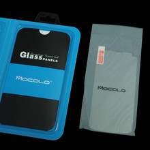Most Popular 0.33mm 2.5D 9H Hardness Tmepered Glass Screen Protector Guards For LG Nexus 4 With Mocolo Retail Package
