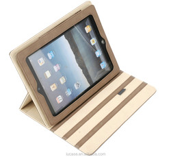 2015 hot selling folio tablet case for iPad case, universal 7 inch tablet case, flip cover 7.85 inch tablet cover