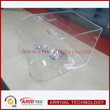 stackable transparent Acrylic Candy dispenser bin without divider