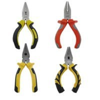 Chain Nose Plier, with Plastic, black, nickel, lead & cadmium free, Grade A,