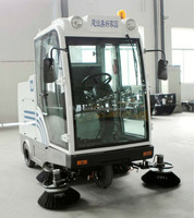 E800LD CE small street sweeper car , rubbish cleaner machine,concrete floor cleaning tool