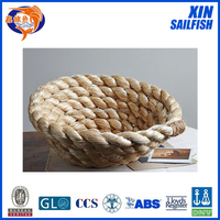 natural color 3-strand Jute rope