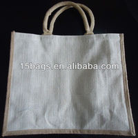 2013 Fashion promotion printing hessian tote shopping bag
