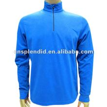 custom men zipper fleece winter coat 2012