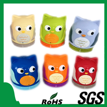 Latest Owl Animal Shape Kitchen Timer New Household Plastic Products talking figure