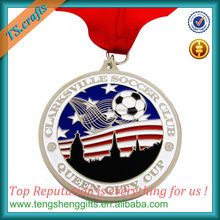 Make you own soccer plaque medal with lanyard