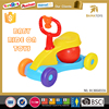 Newest Cartoon musical toy kids plastic car children manual ride on car