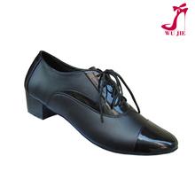 Zapatos de baile con suela cómoda de cuero para caballero