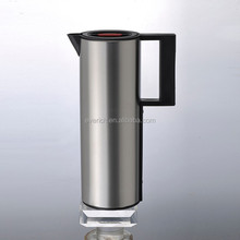 cylinder shape 1000ml stainless steel coffee pitcher with big handle
