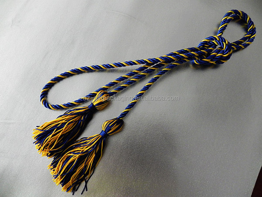 haute qualit long rideau embrasse corde cordon embrasse pompon bleu ceinture avec pompon. Black Bedroom Furniture Sets. Home Design Ideas