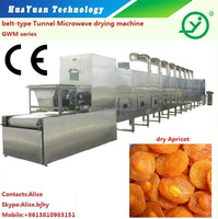 Dried Apricot Microwave Sterilization Drying Machine with CE Approval