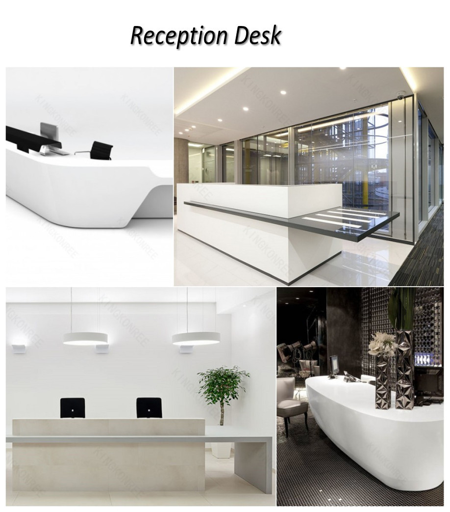 Modern Office Reception Counter Design For Hotel Buy Modern Office
