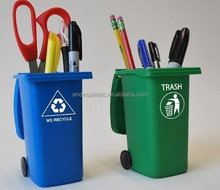 Creative Mini Plastic Recycle Bin Pen Holder
